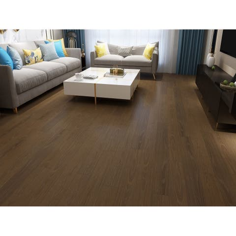 Khaki Finish Engineered Oak Wood Flooring (19.68 Sq. Ft/Carton)