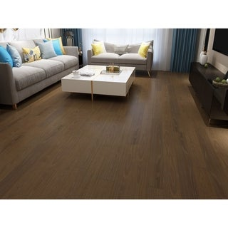 Khaki Finish Engineered Oak Wood Flooring (19.68 Sq. Ft/Carton)