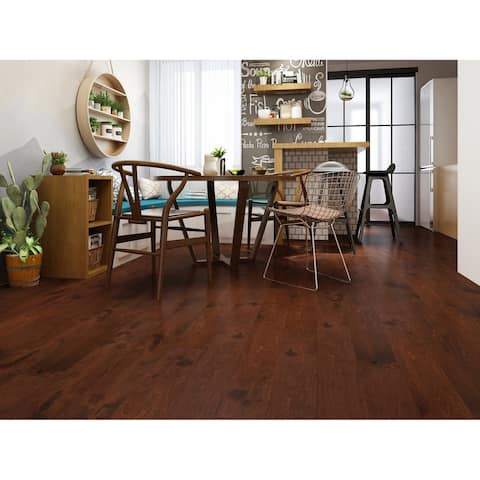 Heritage Finish Engineered Birch Wood Flooring (19.69 Sq. Ft/Carton)
