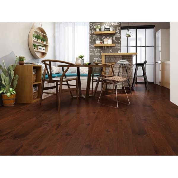 Shop Heritage Finish Engineered Birch Wood Flooring 19 69 Sq Ft