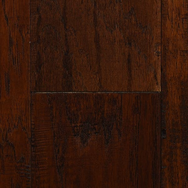 Mocha Finish Engineered Hickory Wood Flooring 20 02 Sq Ft Carton On Sale Overstock 27543939