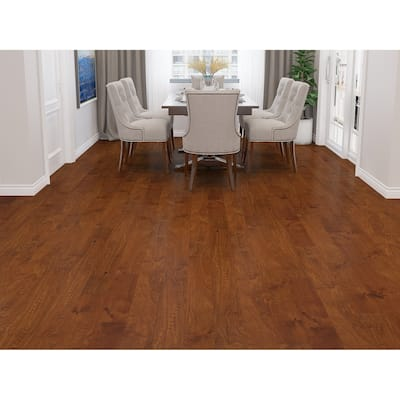 Natural Finish Engineered Birch Wood Flooring (19.69 Sq. Ft/Carton)