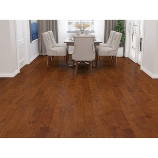 Natural Finish Engineered Birch Wood Flooring (19.69 Sq. Ft/Carton)