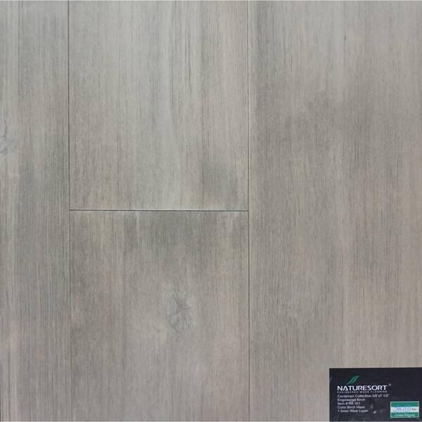 Haze Finish Engineered Birch Wood Flooring 38 86 Sq Ft Carton