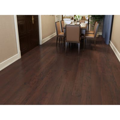 Cherry Finish Engineered Hickory Wood Flooring (26.68 Sq. Ft/Carton)