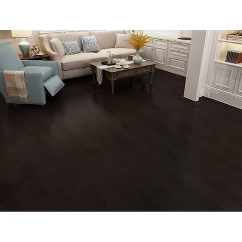 Espresso Finish Engineered Hickory Wood Flooring (20.02 Sq. Ft/Carton)
