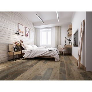 Shop Vineyard 4 Mm 26 53 Sq Ft Vinyl Plank Flooring