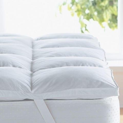 Porch & Den Stacey Hypoallergenic 2-inch Down Alternative Fiber Bed Topper