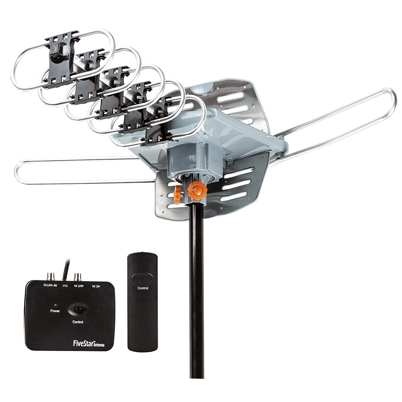 FiveStar Outdoor HDTV Antenna 2019 Newest Model Long Range C