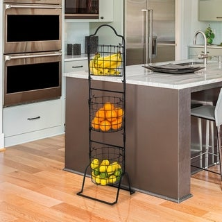 3 - Tier Hanging Basket - Oval Shaped