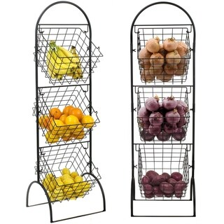 3 Tier Wall Mounted Storage Rack