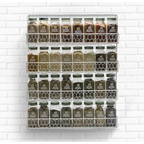 Sorbus Spice Rack and Multi-Purpose Organizer- 4 Tier Storage Rack