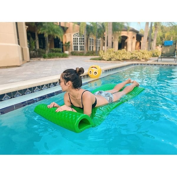 Shop Vos Pool Floats Soft Swimming Pool Lounger Premium ...