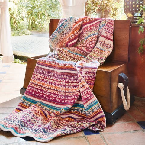 Porch & Den Cleek Bohemian Multicolored Throw
