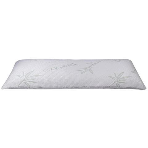 Home Sweet Home Hypoallergenic Memory-Foam Rayon from Bamboo Pillow