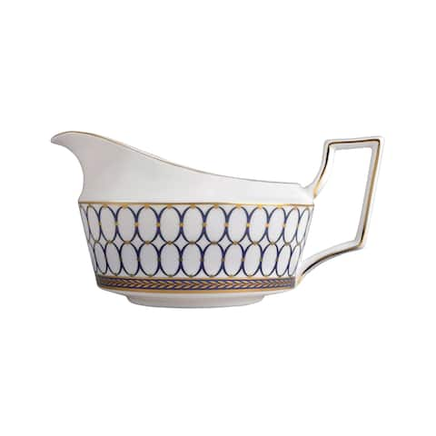 Renaissance Gold Fine Bone China Gravy Boat