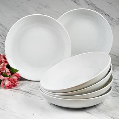 Certified International Bianca Dinner Bowls, Set of 6