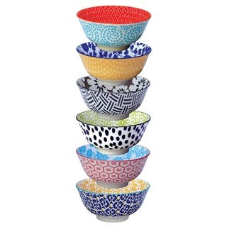 Certified International Chelsea Bowls, Set of 6