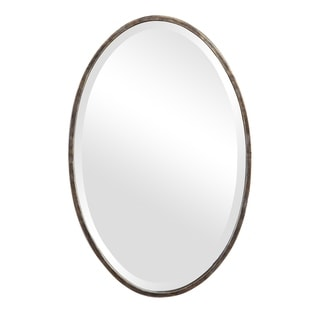 Find Dark Bronze Oval Mirror - 18x28x1.125