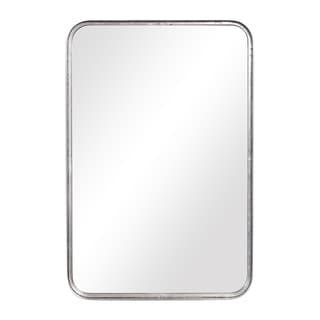Porch & Den O'Brien Burnished Silver Mirror - 20x30x2.125