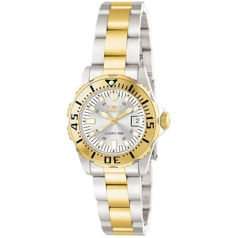 Invicta Women's Pro Diver 14371 Gold, Stainless Steel Watch