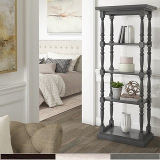 The Gray Barn Sunny Banks Traditional Wooden Bookcase