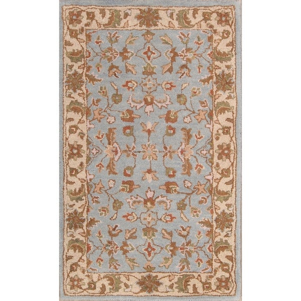 Shop Oushak Floral Tufted Wool Persian Oriental Area Rug: Shop The Curated Nomad Brompton Handmade Wool Oushak