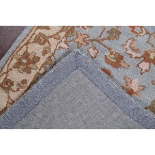 """The Curated Nomad Brompton Handmade Wool Oushak Oriental Floral Area Rug - 8'0"""" x 10'0"""""""