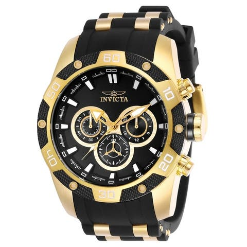 Invicta Men's Speedway 25835 Gold Watch