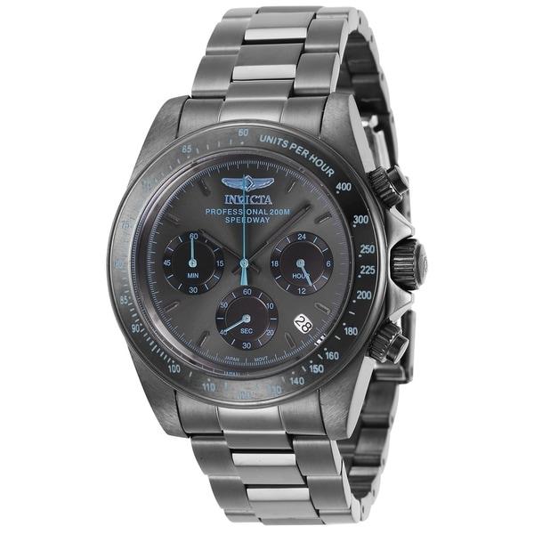 b7b26c2e9 Shop Invicta Men's Speedway 27772 Gunmetal Watch - Free Shipping ...