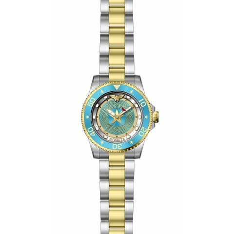Invicta Women's DC Comics 29692 Stainless Steel, Gold Watch