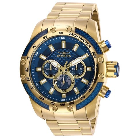 Invicta Men's Speedway 28659 Gold Watch