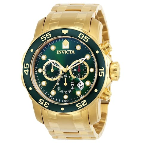 Invicta Men's 21925 'Pro Diver' Gold-Tone Stainless Steel Watch