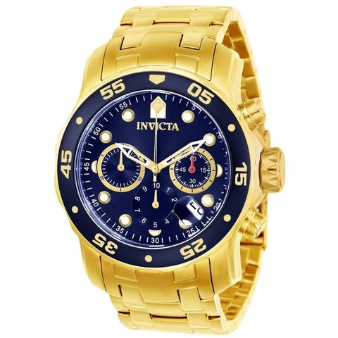 Invicta Men's Pro Diver 21923 Gold Watch