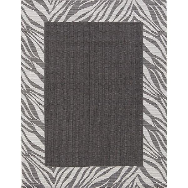 Shop Solid Acrylic And Polyester Animal Border Print Belgium