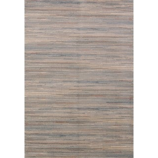 Transitional Acrylic and Polyester Stripe Rustic Belgium Oriental Rug