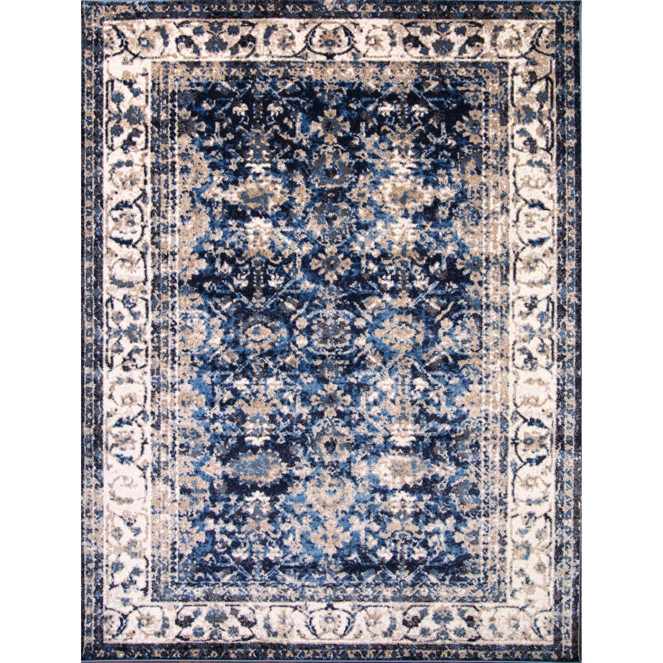 Distressed Agra Oriental Transitional