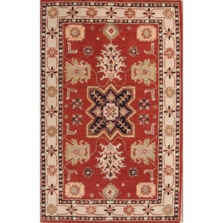The Curated Nomad Bromley Handmade Wool Oushak Oriental Area Rug