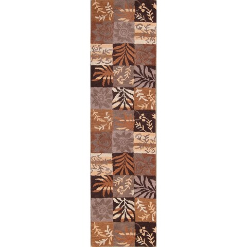 The Curated Nomad Palmetto Handmade Oushak Oriental Patchwork Area Rug