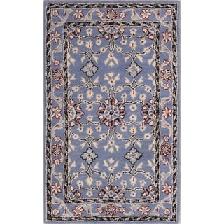 The Curated Nomad Brompton Handmade Wool Oushak Oriental Area Rug