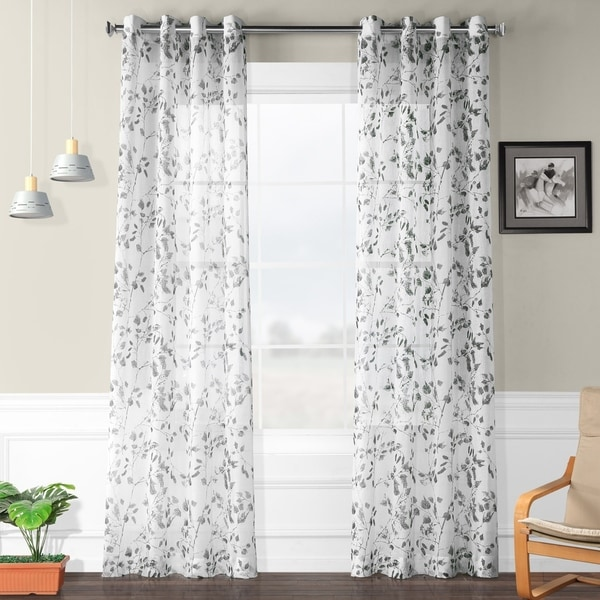 Shop Porch & Den Adlington Woodland Printed Faux Linen