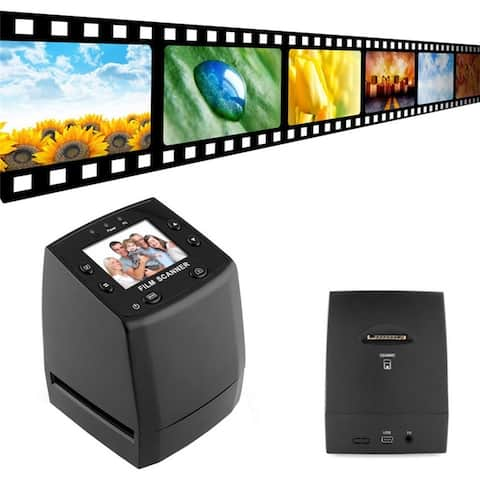 5 Mega Pixels 35mm Negative Film Slide Viewer Scanner USB Color Photo Copier