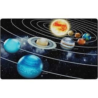 "Flagship Carpet Kids Nylon Traveling The Solar System Classroom Seating Rug - 7'6"" x 12' - 7'6"" x 12'"