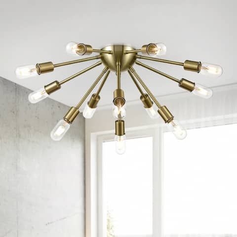 Light Society Sputnik Style Ceiling Light