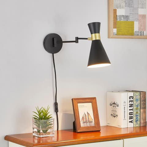Light Society Beaker Plug-In Wall Sconce