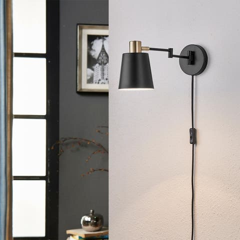 Light Society Alexi Plug-In Wall Sconce