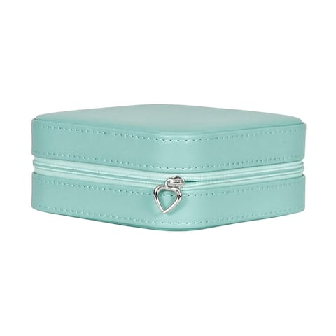 Mele & Co. Josette Travel Jewelry Case in Faux Leather