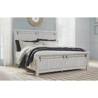 Brashland Farmhouse Panel Bed.