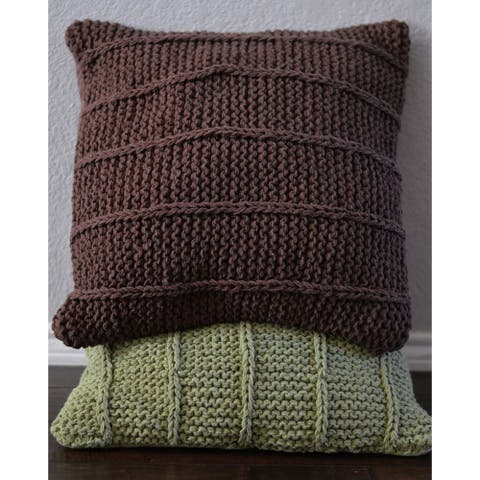 AANNY Design Stratton Pure Cotton Throw Pillow