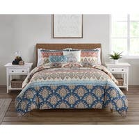 VCNY Home Madison Reversible Damask Comforter Set